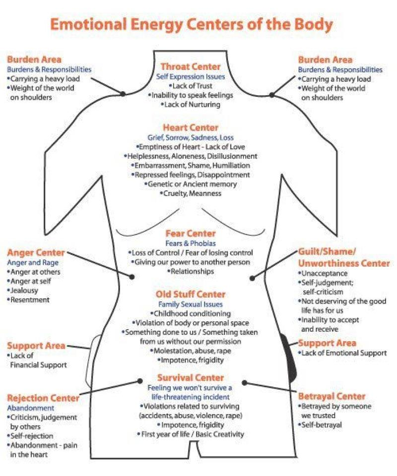 Discover Your Emotional Anatomy: Where do you FEEL your feelings ...